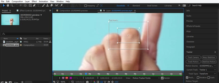 After Effects Tracking - 11