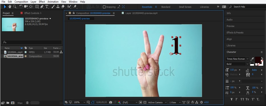 After Effects Tracking - 22