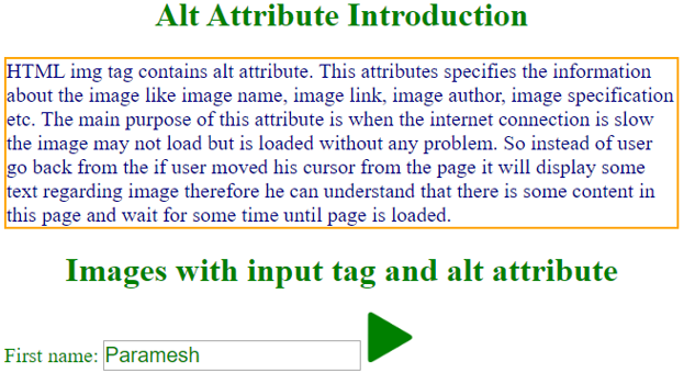Alt Tag in HTML - 7