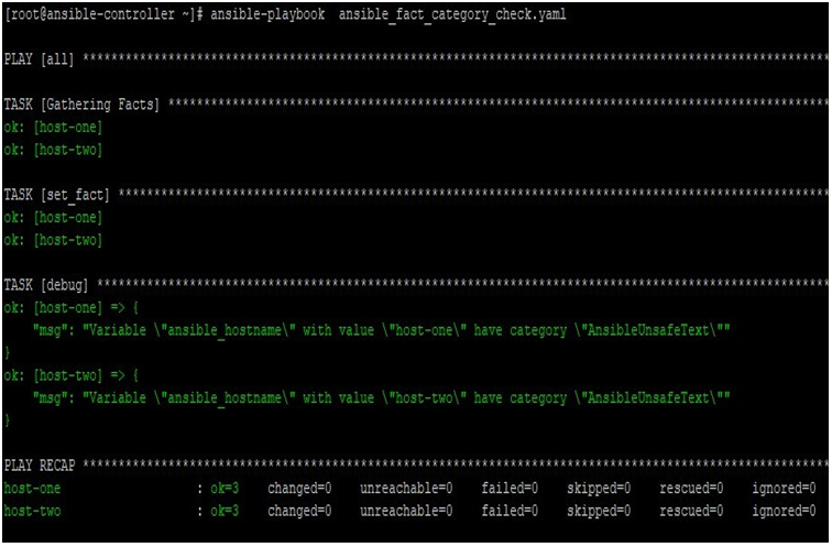 Ansible Facts output 2