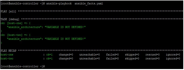 Ansible Facts output 5