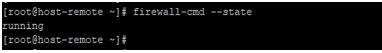 Ansible Firewalld output 1