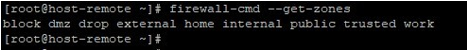 Ansible Firewalld output 4