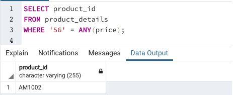 Array in SQL10
