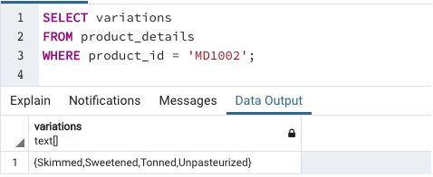 Array in SQL12