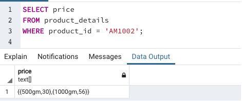 Array in SQL14