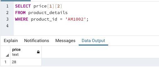 Array in SQL6