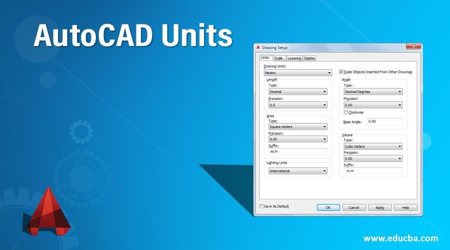 AutoCAD-Units