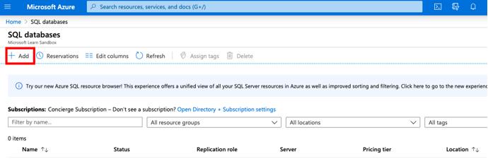 Azure SQL Database1.3