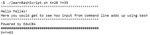 Bash Shell Script Example 2