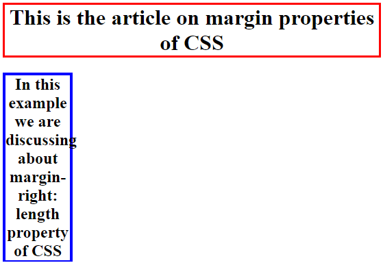 CSS Margin Right 2