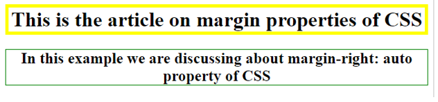 CSS Margin Right 4