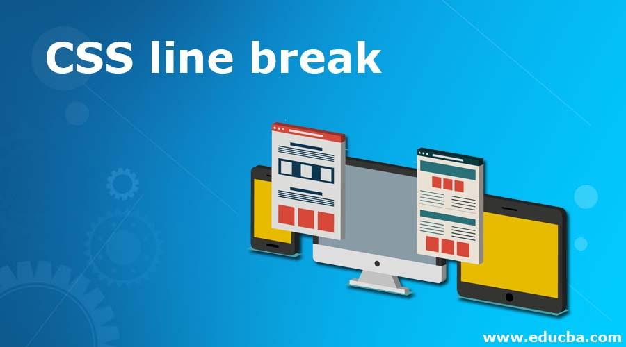 CSS line break