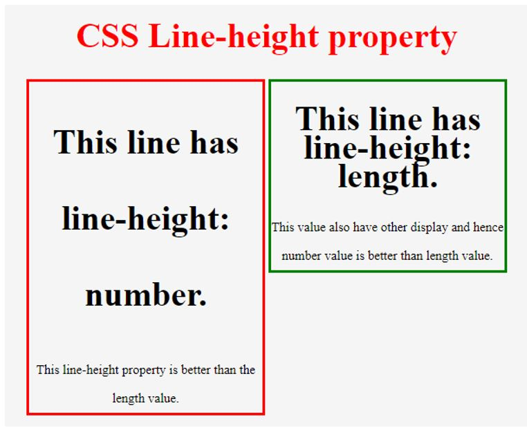 CSS line height 6