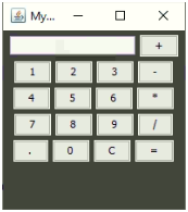 Calculator in Java Example 1