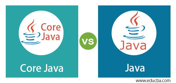 Core Java vs Java