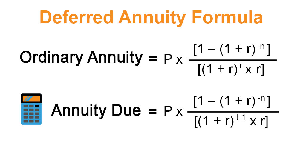 Deferred Annuity Formula