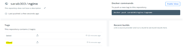 Docker Push Example 5