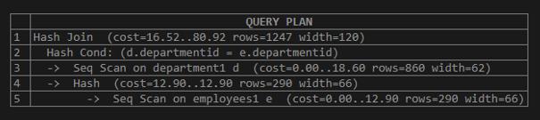 EXPLAIN in SQL - 11