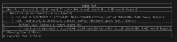EXPLAIN in SQL - 12