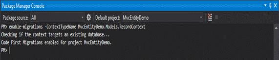Entity Framework in MVC-1.5