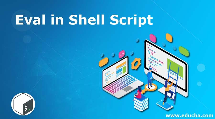 Eval in Shell Script