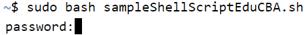 Execute Shell Script - 6