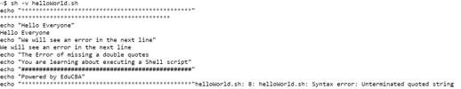 Execute Shell Script - 8