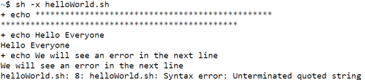 Execute Shell Script - 9