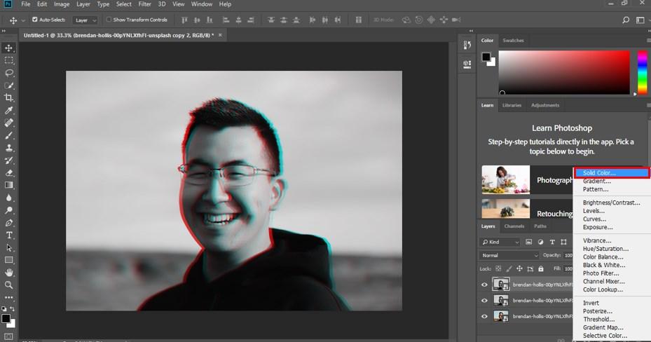 Glitch Effect in Photoshop - 11