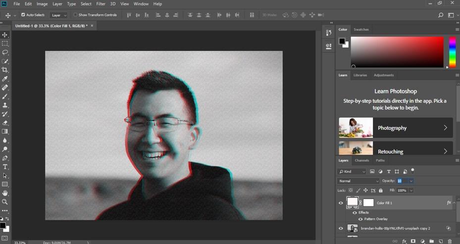 Glitch Effect in Photoshop - 16