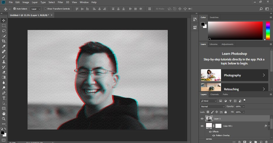 Glitch Effect in Photoshop - 17