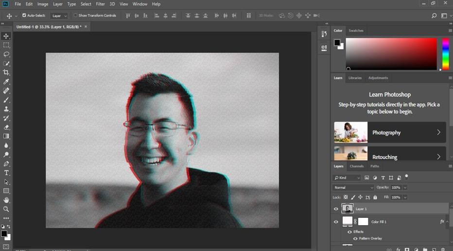 Glitch Effect in Photoshop - 20