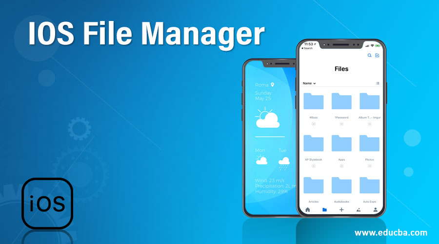 IOS File Manager
