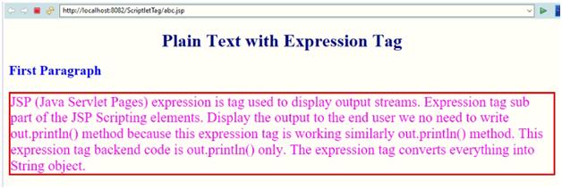 Plain Text Example 4