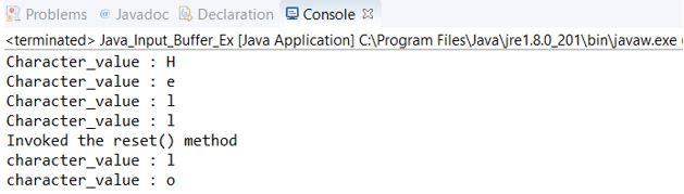 Java BufferedInputStream3
