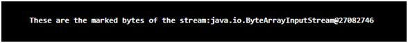 Java ByteArrayInputStream Example 3