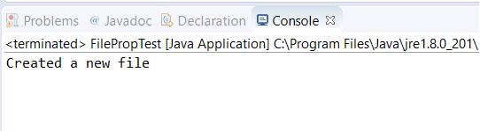 Java File Class 1