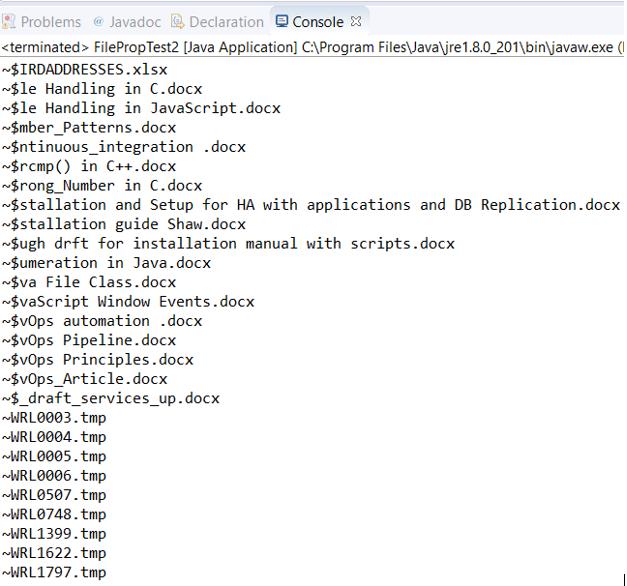 Java File Class 2