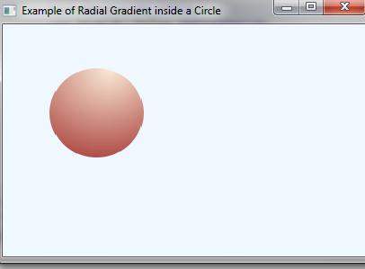 JavaFX Gradient Color - 3