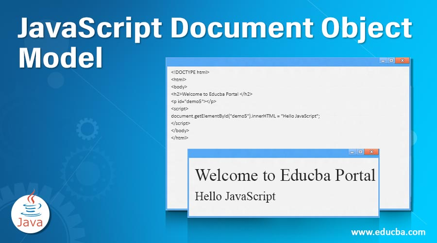 JavaScript Document Object Model