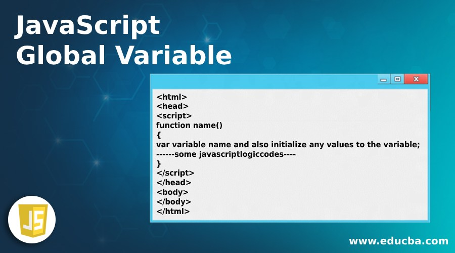 JavaScript Global Variable