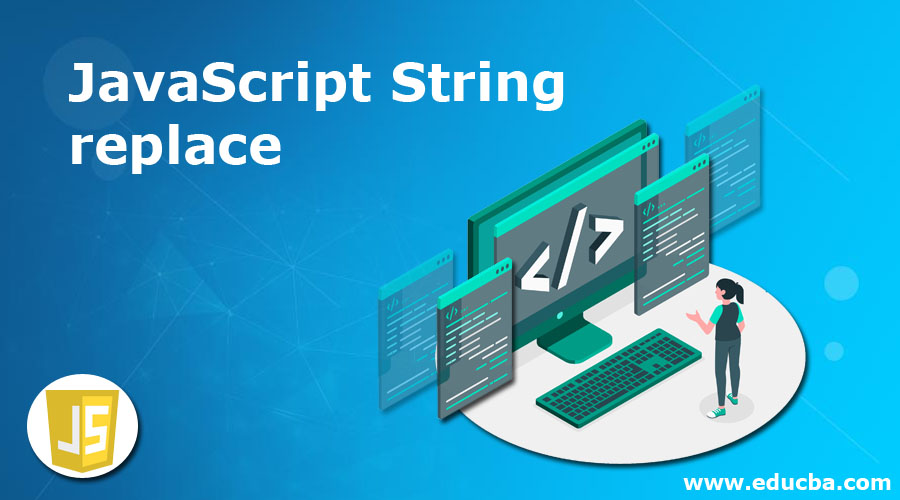 JavaScript String replace