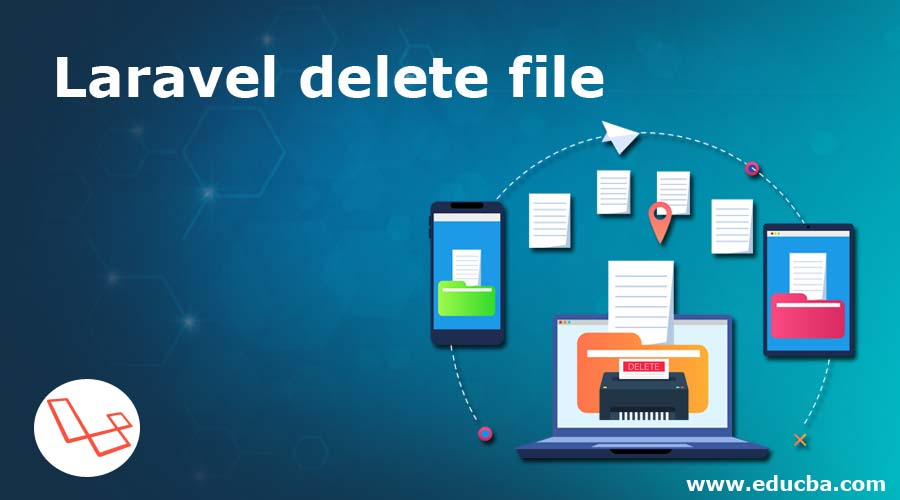 Laravel delete file