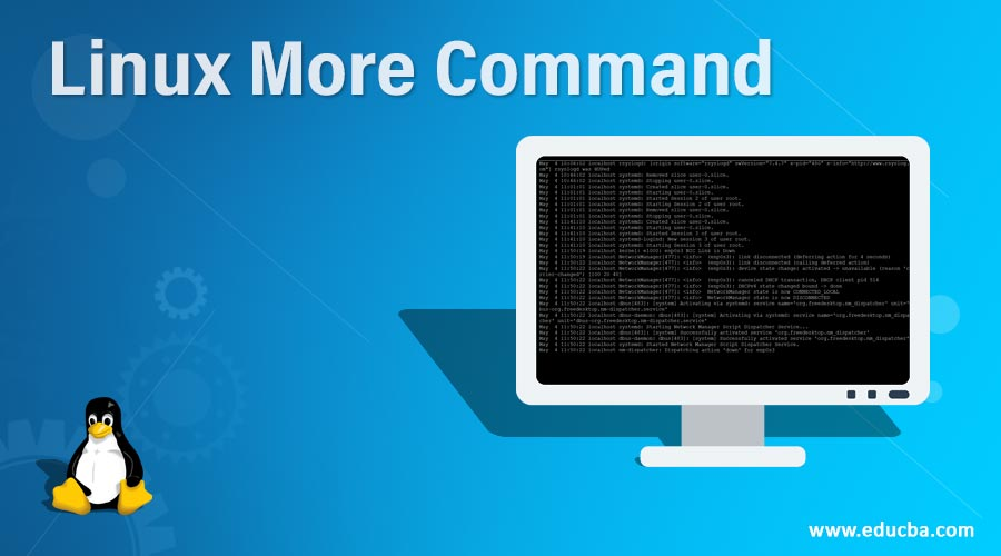 Linux More Command