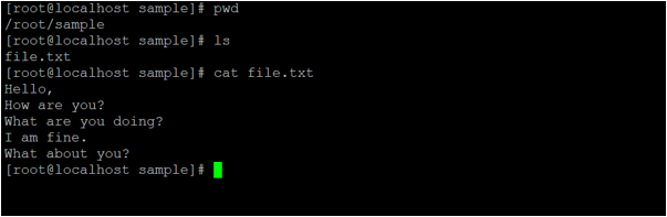 Linux shred output 1