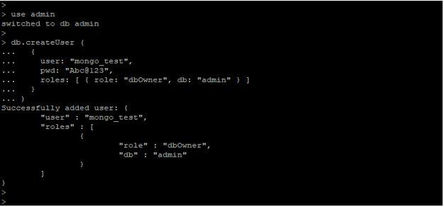 MongoDB Authentication1