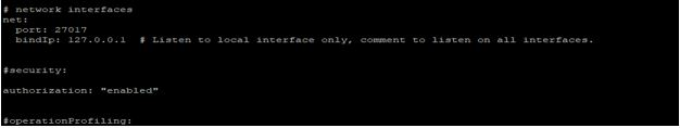 MongoDB Authentication2