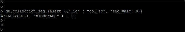 MongoDB Auto Increment2