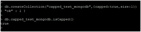 MongoDB Capped Collections Example 2